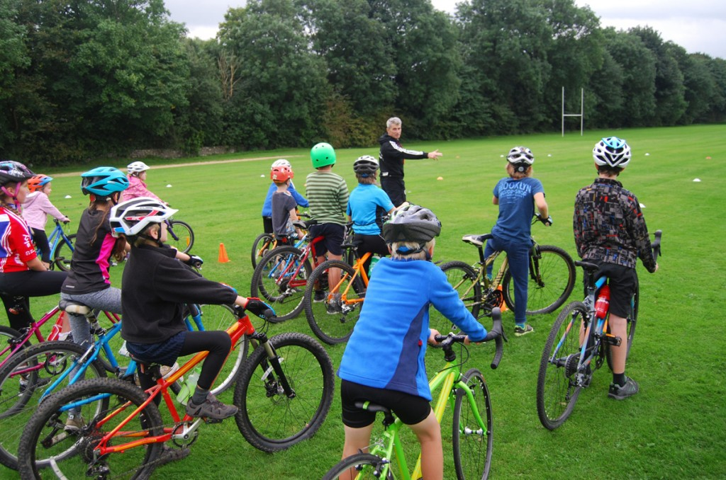 Kendal Cycle Club Go-Ride Sessions for children
