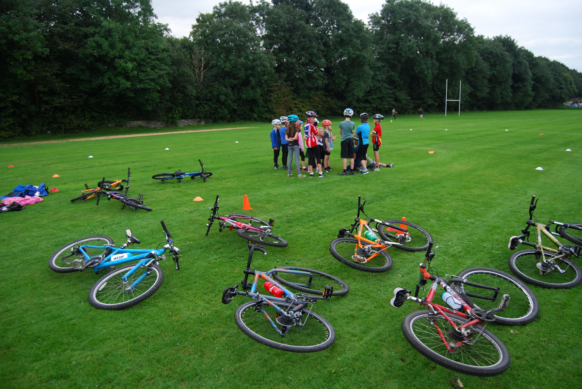 Kendal Cycle Club Go Ride Sessions for children aged 8 to 14 years
